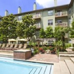 Post Addison Circle Apartments Pool