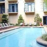 Post Addison Circle Apartments Pool Area