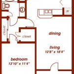 Montfort Place Apartment Floor Plan