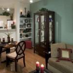 Post Addison Circle Apartment Living Room 1