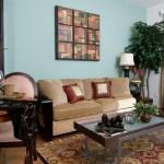 Post Addison Circle Apartment Living Room 2