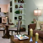 Post Addison Circle Apartment Living Room