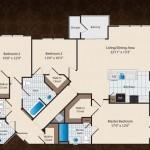 Prairie Crossing Apartment Floor Plan