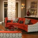 Prairie Crossing Apartment Living Room 1