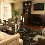 Prairie Crossing Apartment Living Room