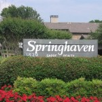 Springhaven Apartment Sign