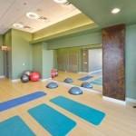 Savoye Apartment aerobics room