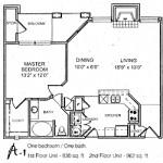 Waterford Court Apartment Floor Plan