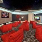 Savoye Apartment gameroom